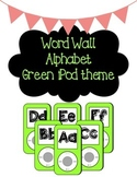 iPod Themed Word Wall Headers - Green
