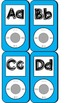 iPod Themed Word Wall Headers - Blue