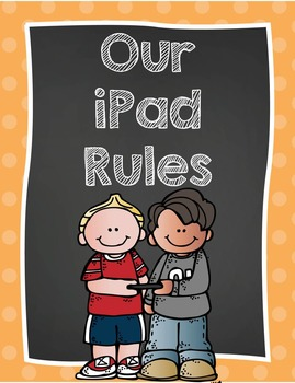 iPad/Tablet/iPod Rules for the Classroom