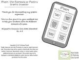 iPoem: Elements of Poetry - Graphic Organizer