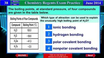 iPractice: Chemistry Regents Exam June 2014 (Great on iPads, Tablets & Phones)
