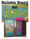 iREAD Bulletin Board Template FREEBIE