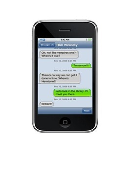 iREAD- Literary Characters Text, Too!