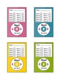 iRead Book Punch Card