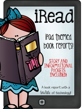 iRead Book Reports--iPad themed book reports for informational and story books!