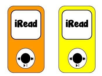 iRead Bulletin Board or Display Set
