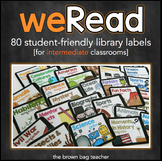 iRead: Library Labels for the Intermediate Classroom
