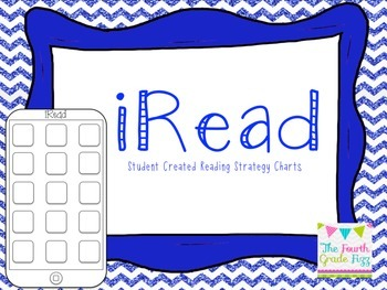 iRead - iPhone Themed Reading Strategy Chart