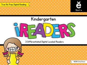 iReaders: Digital Reading Practice {Short E}