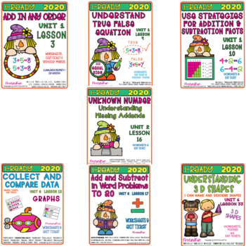 iReady 2020 Update Bundle - Supplemental  Resources for 1st Grade Math