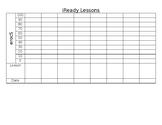 iReady Data Tracking: Student Sheet