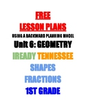 Ready Geometry Lesson Plans 1st Grade