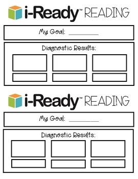 iReady Goals Sheets