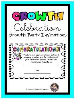 iReady- Growth Celebration Party Invitations