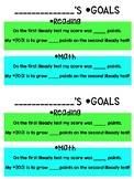 iReady Growth Goal Tracking Sheets