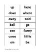 iReady Kindergarten High Frequency Word Flashcards