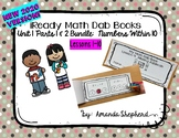iReady Math First Grade Unit 1:  Count, Add, and Subtract to 10 Dab Books