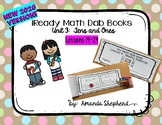 iReady Math First Grade Unit 3:  Add and Subtract to 20 Dab Books