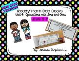 iReady Math First Grade Unit 4:  Tens Dab Books