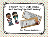 iReady Math First Grade Unit 7:  How Many?  How Much?  How Long? Dab Books