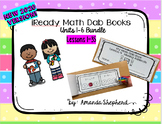 iReady Math First Grade Units 1-7 Dab Book Bundle