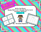 iReady Math First Grade Write the Room Unit 1