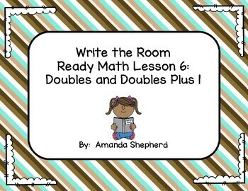 iReady Math First Grade Write the Room Unit 2