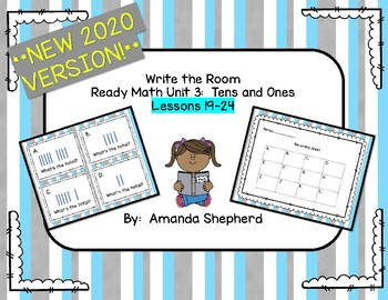 iReady Math First Grade Write the Room Unit 3