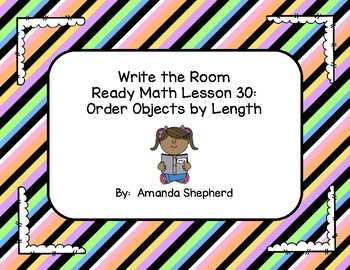 iReady Math First Grade Write the Room Unit 5