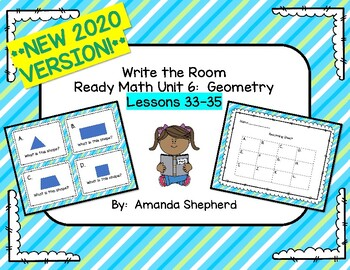 iReady Math First Grade Write the Room Unit 6