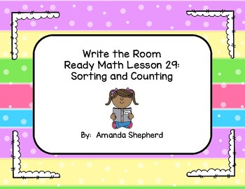 iReady Math First Grade Write the Room Unit 7