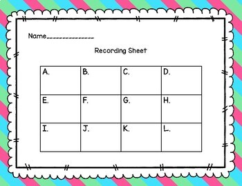 iReady Math First Grade Write the Room Units 1-7 Bundle