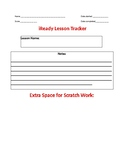 iReady Math Lesson Tracker