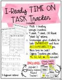 iReady Math & Reading Time on Task Tracker