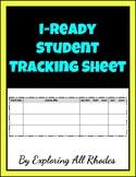 iReady Math Student Tracking Sheet