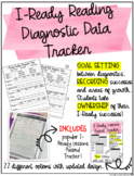 iReady Reading Diagnostic Tracker, and Goal Setting resour
