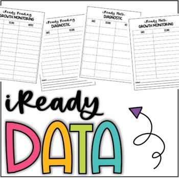 iReady Reading & Math Data Sheets