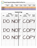 iReady STUDENT TRACKING SHEET