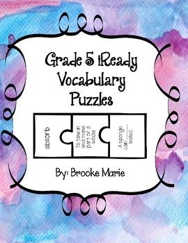iReady Vocabulary Puzzles