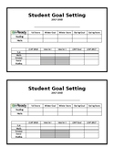 iReady and LEAP Goal Setting Worksheet