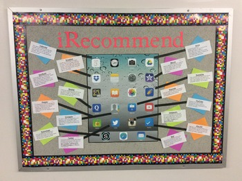 iRecommend Bulliten Board: Recommended Student App List