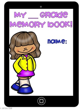 iRemember- End of the Year Memory Book