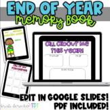 End Of Year Memory Book- iRemember