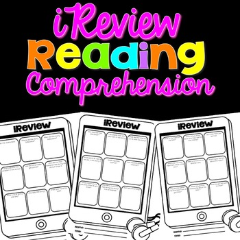 iReview Reading Comprehension Questions
