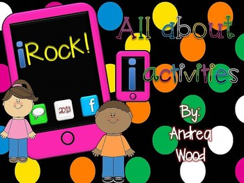 All about Me Activities - iRock! Back to School