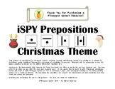 iSPY Speech Pronoun Christmas
