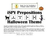 iSPY Speech Pronoun Halloween