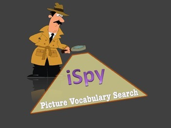 iSPY Vocabulary Powerpoint (expectations,video, management)
