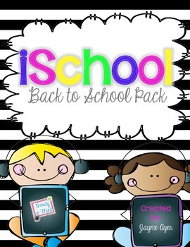 iSchool: Back to School Pack