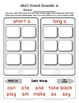 iSort: Long and Short Vowel Sounds with Dolch Words